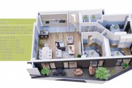 Продается квартира, В процессе строительства, Вашлиджвари