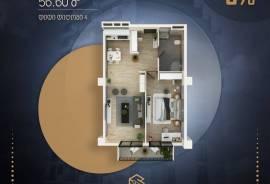 Продается квартира, В процессе строительства, Диди Дигоми