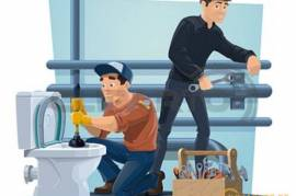 Construction and repair services, Plumbing services